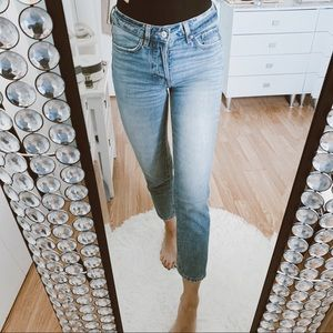 Light washed jeans